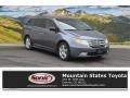 Polished Metal Metallic 2011 Honda Odyssey Touring