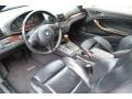 2002 3 Series 325i Convertible Black Interior