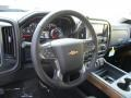 Jet Black Steering Wheel Photo for 2016 Chevrolet Silverado 1500 #108099652