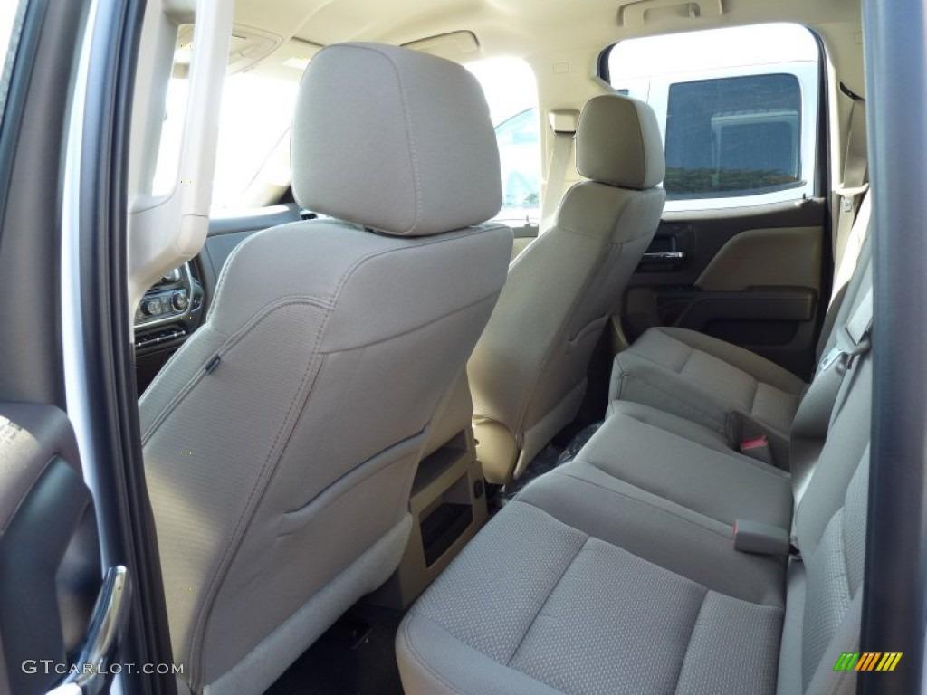 2016 Chevrolet Silverado 1500 LT Double Cab 4x4 Rear Seat Photos
