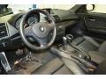 2013 1 Series 128i Coupe Black Interior