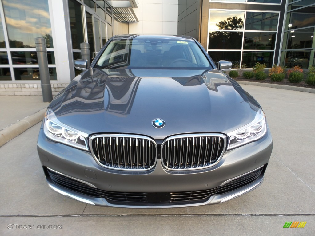 Magellan Gray Metallic 2016 BMW 7 Series 750i XDrive Sedan