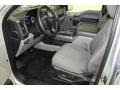 Medium Earth Gray Interior Photo for 2015 Ford F150 #108132018