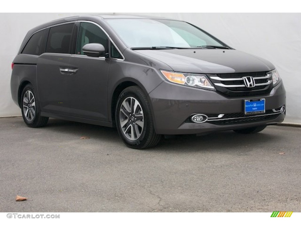 2016 smoky topaz metallic honda odyssey touring elite for 2016 honda odyssey colors