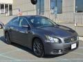 Dark Slate 2012 Nissan Maxima 3.5 S