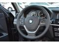 Black Steering Wheel Photo for 2016 BMW X3 #108159475