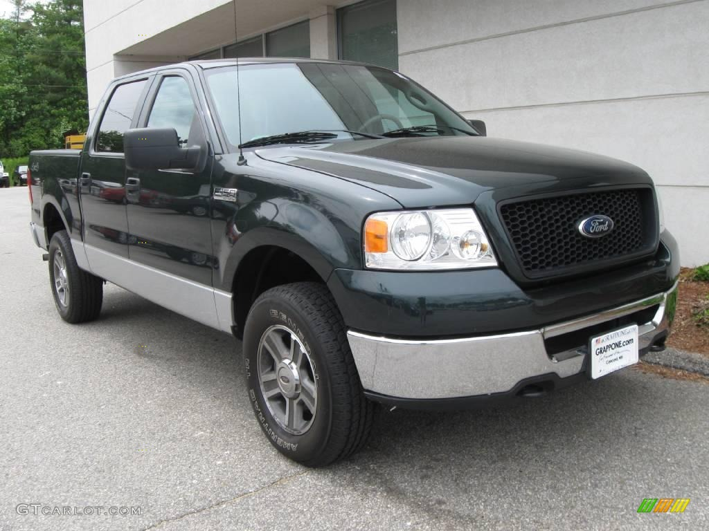 2006 aspen green metallic ford f150 xlt supercrew 4x4. Black Bedroom Furniture Sets. Home Design Ideas