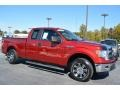 Ruby Red 2014 Ford F150 Gallery
