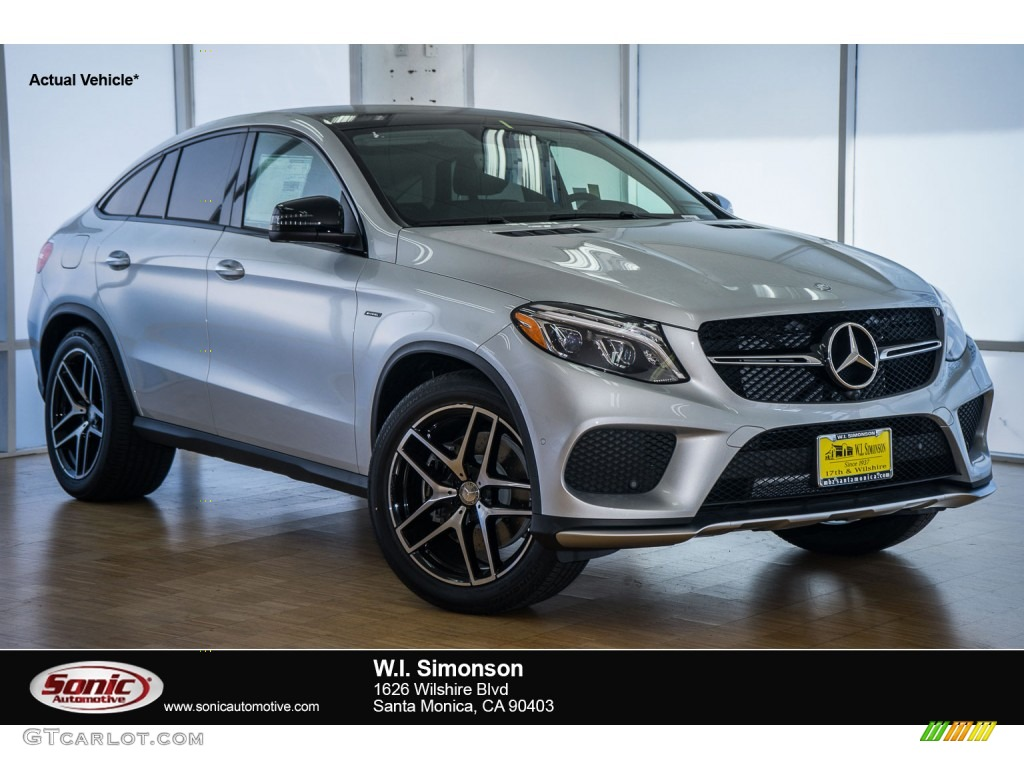 2016 iridium silver metallic mercedes benz gle 450 amg for Mercedes benz silver