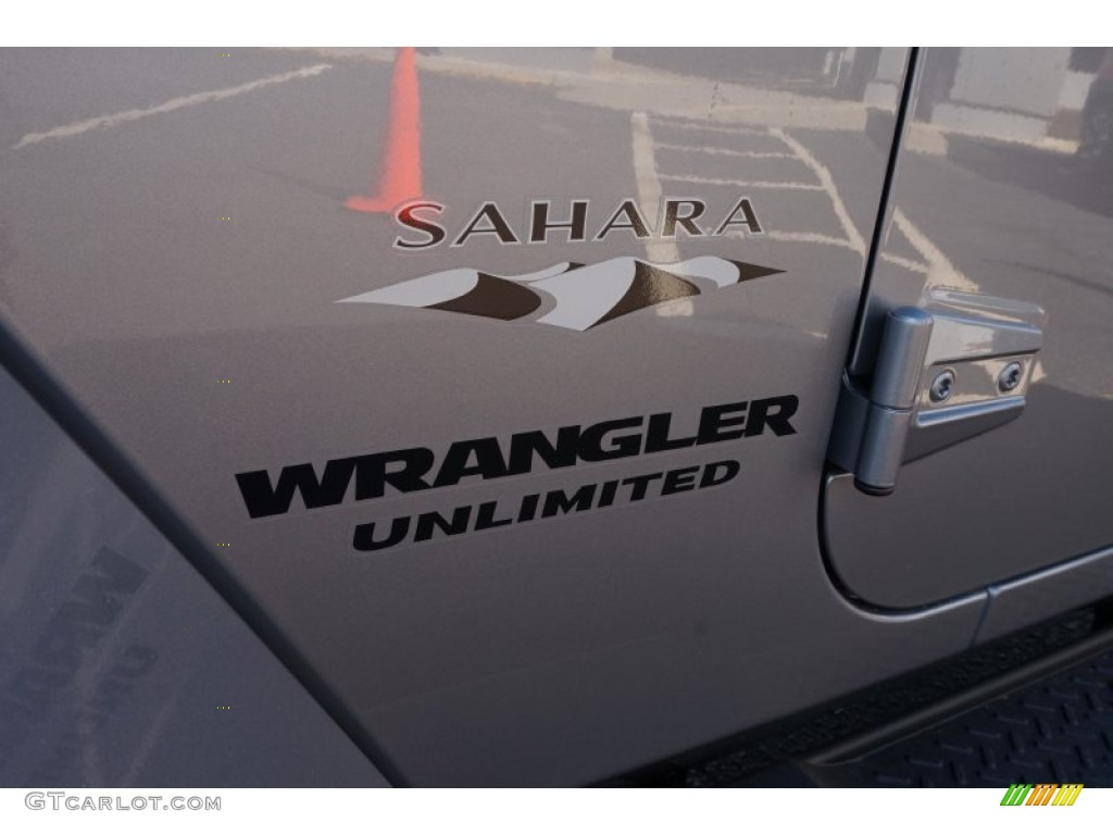 2016 Wrangler Unlimited Sahara 4x4 - Billet Silver Metallic / Black photo #13