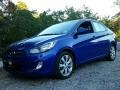 Marathon Blue 2012 Hyundai Accent GLS 4 Door