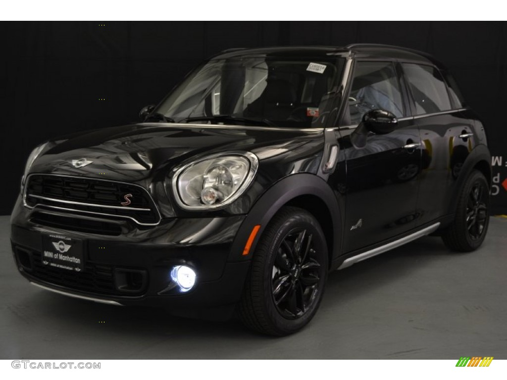 2016 absolute black metallic mini countryman cooper s all4 108143794 car color. Black Bedroom Furniture Sets. Home Design Ideas