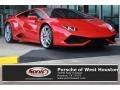 Rosso Mars 2015 Lamborghini Huracan LP 610-4