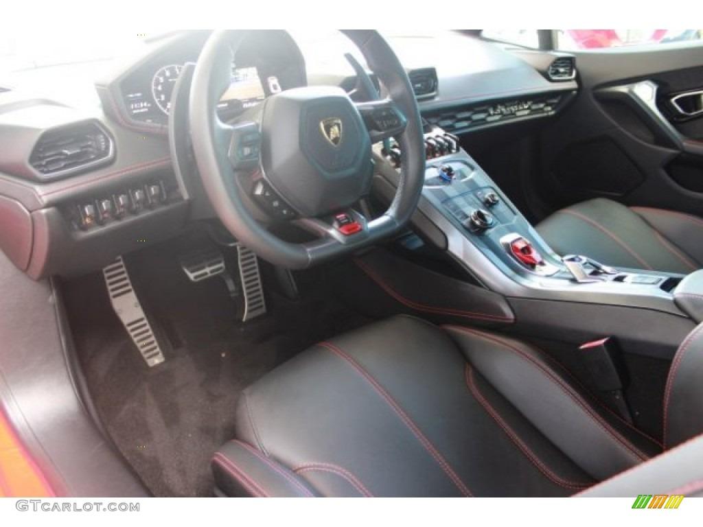 Nero Ade Interior 2015 Lamborghini Huracan Lp 610 4 Photo 108203442