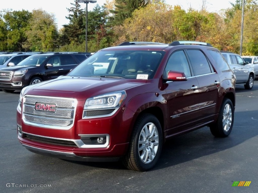 2016 crimson red tintcoat gmc acadia denali awd 108205273. Black Bedroom Furniture Sets. Home Design Ideas