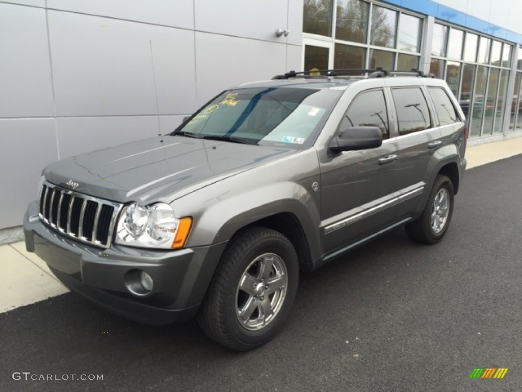2007 mineral gray metallic jeep grand cherokee limited 4x4