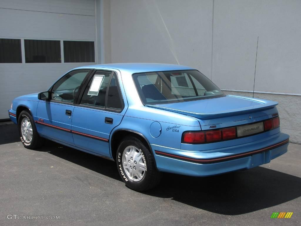 Worksheet. 1992 Medium Maui Blue Metallic Chevrolet Lumina Euro Sedan