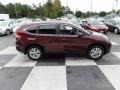 2013 Basque Red Pearl II Honda CR-V EX-L  photo #3