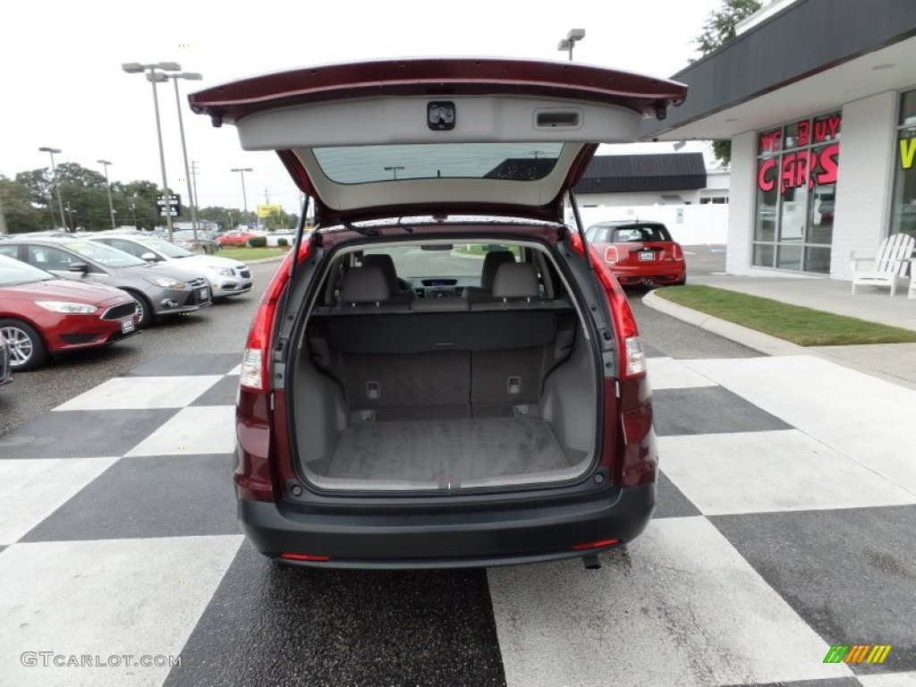 2013 CR-V EX-L - Basque Red Pearl II / Gray photo #5