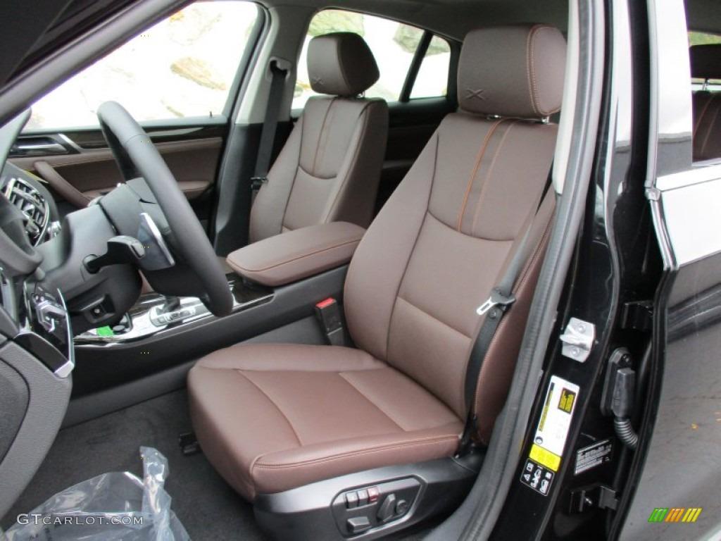 Mocha Interior 2016 BMW X4 XDrive28i Photo 108236376
