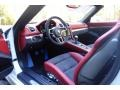 2016 Boxster Spyder Garnet Red/Black Interior