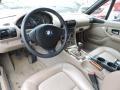 2001 BMW Z3 Beige Interior Interior Photo
