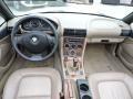 2001 BMW Z3 Beige Interior Dashboard Photo
