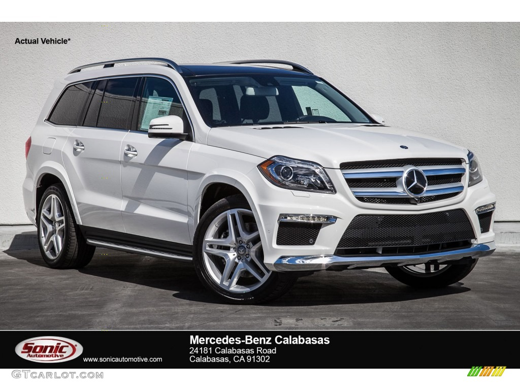 2016 designo diamond white metallic mercedes benz gl 550 for Mercedes benz 550 gl