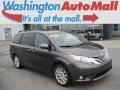 Predawn Gray Mica 2011 Toyota Sienna Limited AWD