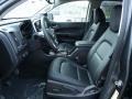 2016 GMC Canyon Jet Black Interior Front Seat Photo