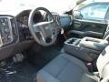 Jet Black Prime Interior Photo for 2016 Chevrolet Silverado 1500 #108288852