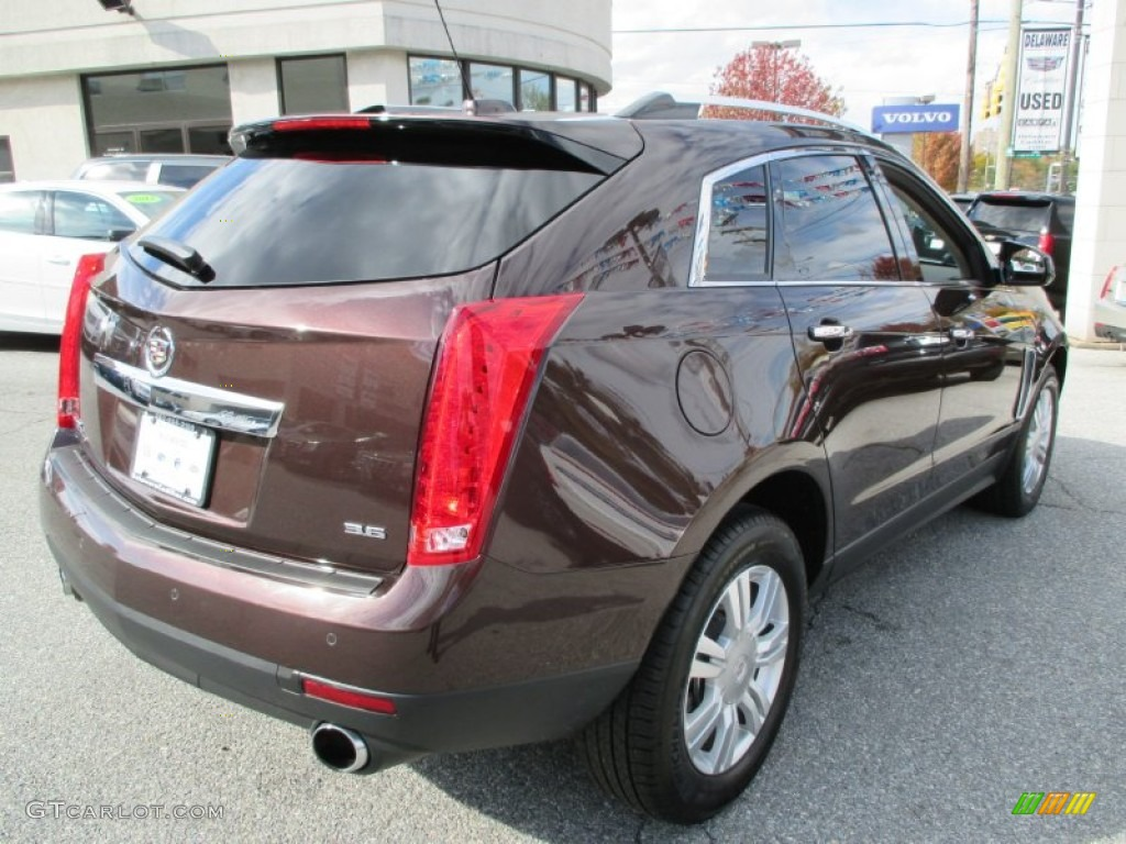 2015 Cocoa Bronze Metallic Cadillac Srx Luxury 108286891 Photo 4 Car Color