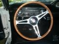 1965 Ford Mustang Black Interior Steering Wheel Photo