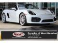 White 2016 Porsche Boxster Spyder