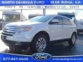 White Suede 2010 Ford Edge SEL