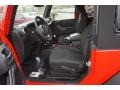 Black 2016 Jeep Wrangler Interiors