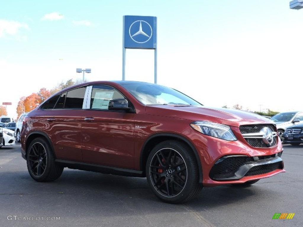 designo Cardinal Red Metallic 2016 Mercedes-Benz GLE 63 S AMG 4Matic ...