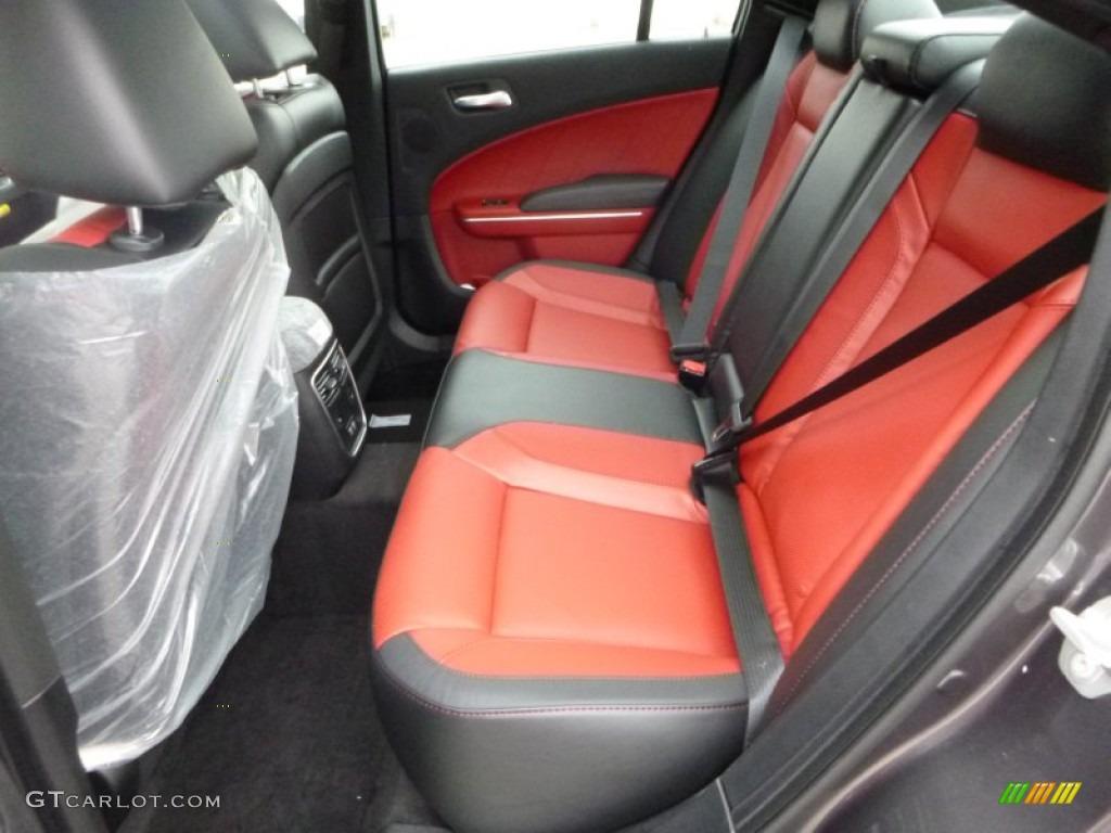 Black Ruby Red Interior 2016 Dodge Charger Sxt Awd Photo 108328251 Gtcarlot Com