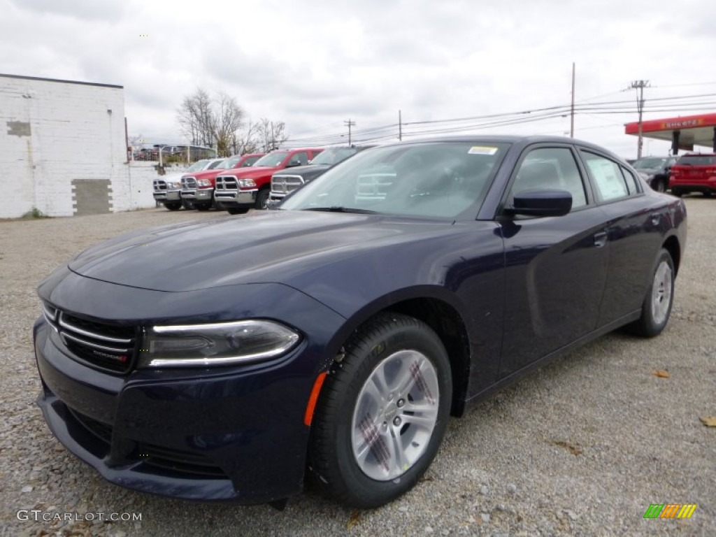 Jazz Blue Pearl Coat Dodge Charger