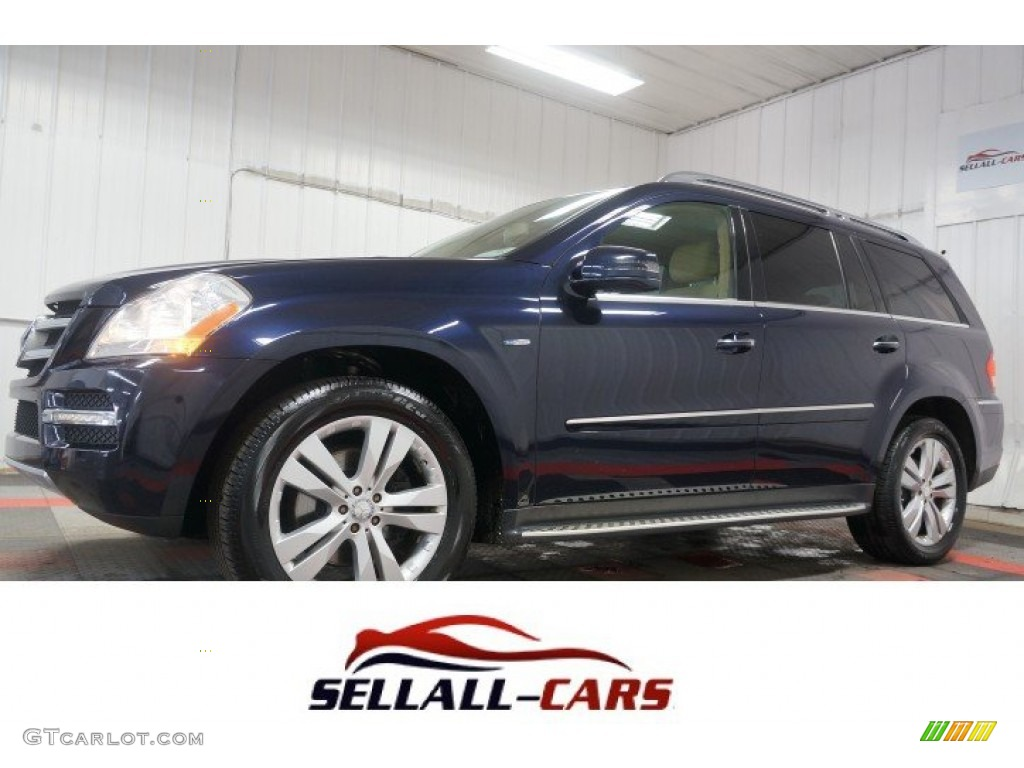 2012 capri blue metallic mercedes benz gl 350 bluetec. Black Bedroom Furniture Sets. Home Design Ideas