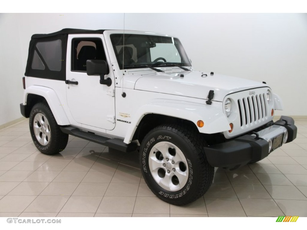 bright white 2013 jeep wrangler sahara 4x4 exterior photo 108337416. Black Bedroom Furniture Sets. Home Design Ideas