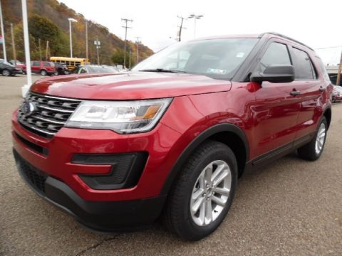 2016 Ford Explorer 4WD Data, Info and Specs