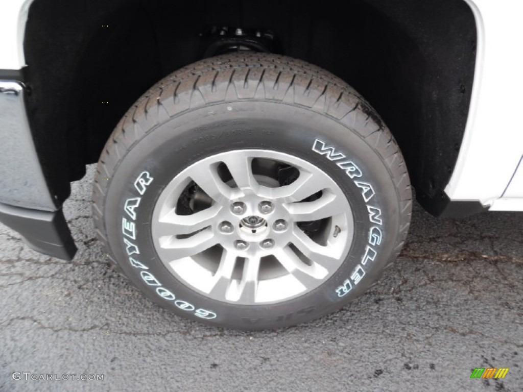 2016 Chevrolet Silverado 1500 LT Double Cab 4x4 Wheel Photo #108341943