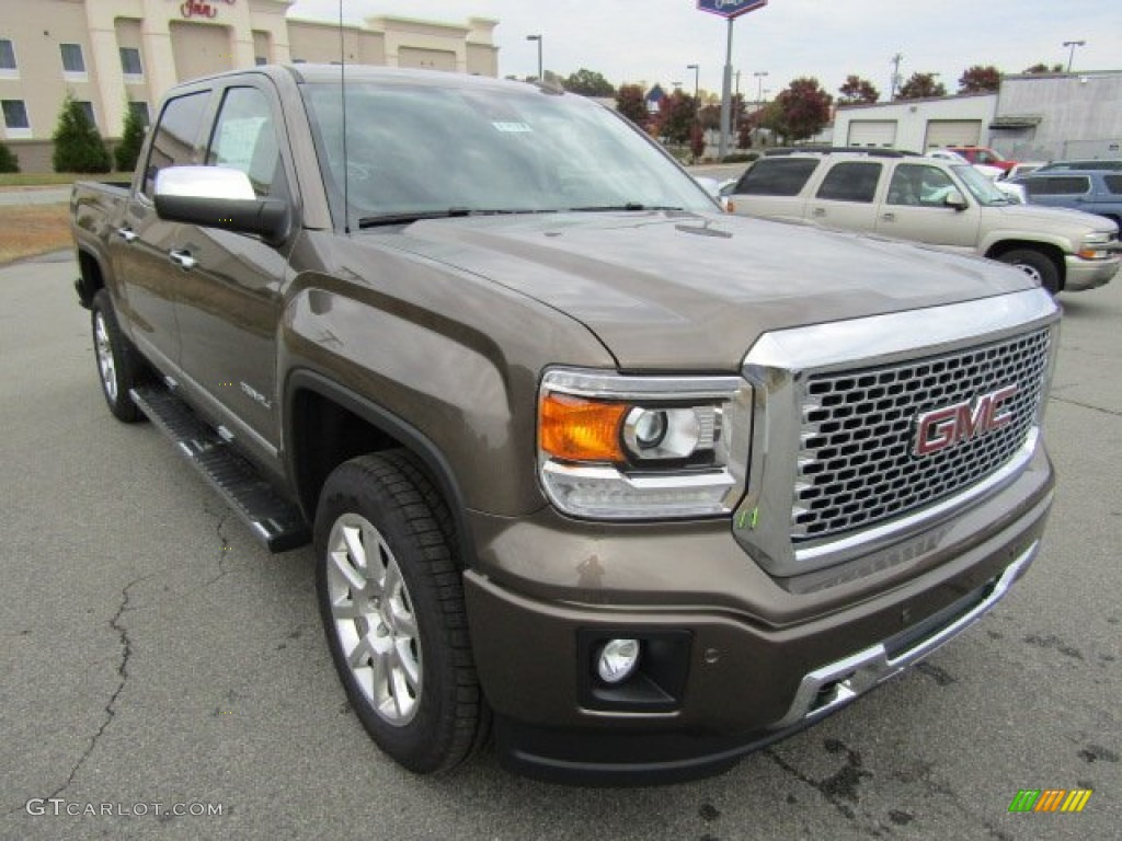 2015 bronze alloy metallic gmc sierra 1500 denali crew cab 4x4 108316023 car. Black Bedroom Furniture Sets. Home Design Ideas
