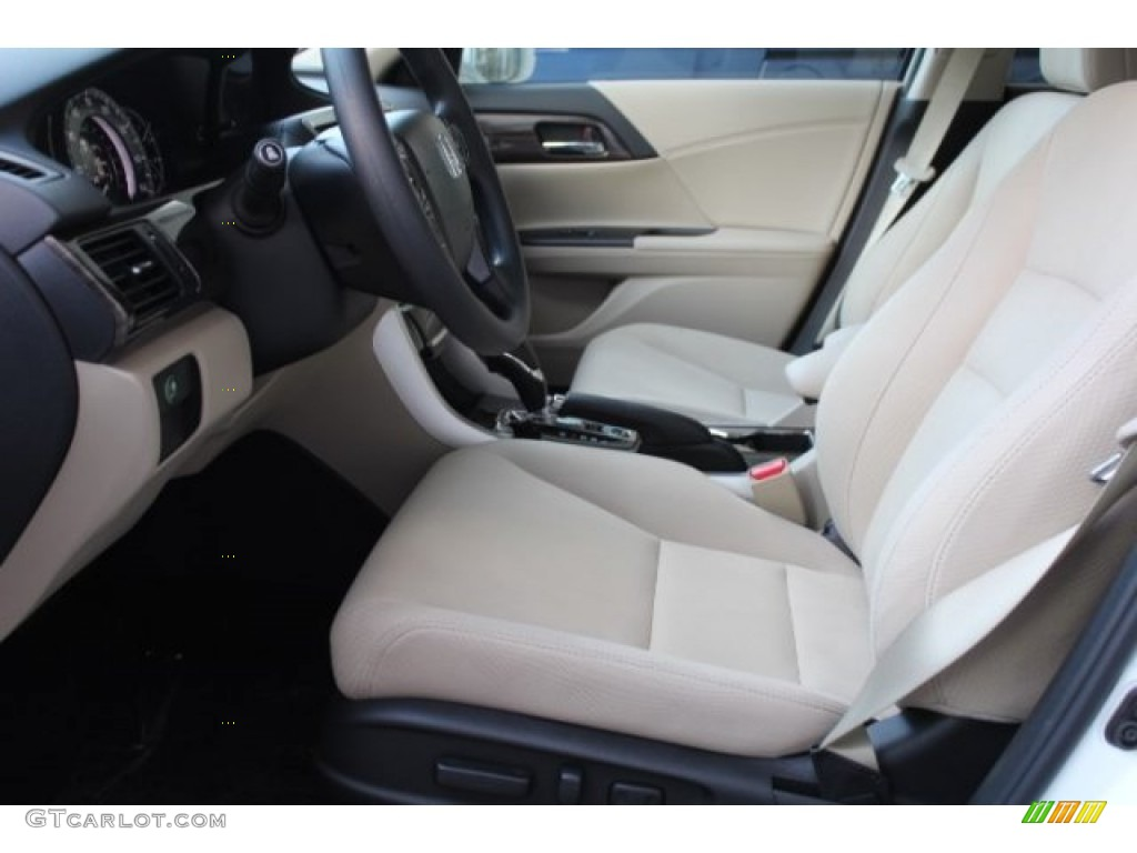 Ivory Interior 2016 Honda Accord Ex Sedan Photo 108351873