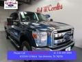 2016 Blue Jeans Metallic Ford F250 Super Duty XLT Crew Cab 4x4 #108353529