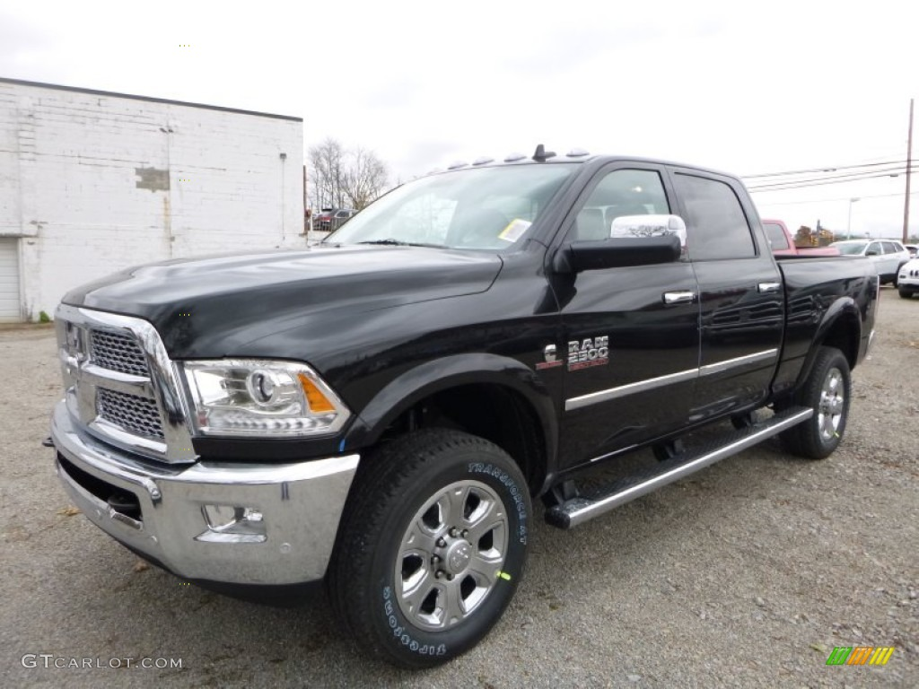 2016 black ram 2500 laramie crew cab 4x4 108353585 car color galleries. Black Bedroom Furniture Sets. Home Design Ideas