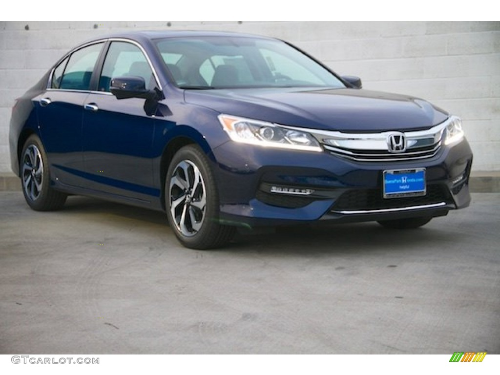 2016 obsidian blue pearl honda accord ex l sedan. Black Bedroom Furniture Sets. Home Design Ideas