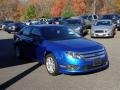 2011 Blue Flame Metallic Ford Fusion SE #108369563