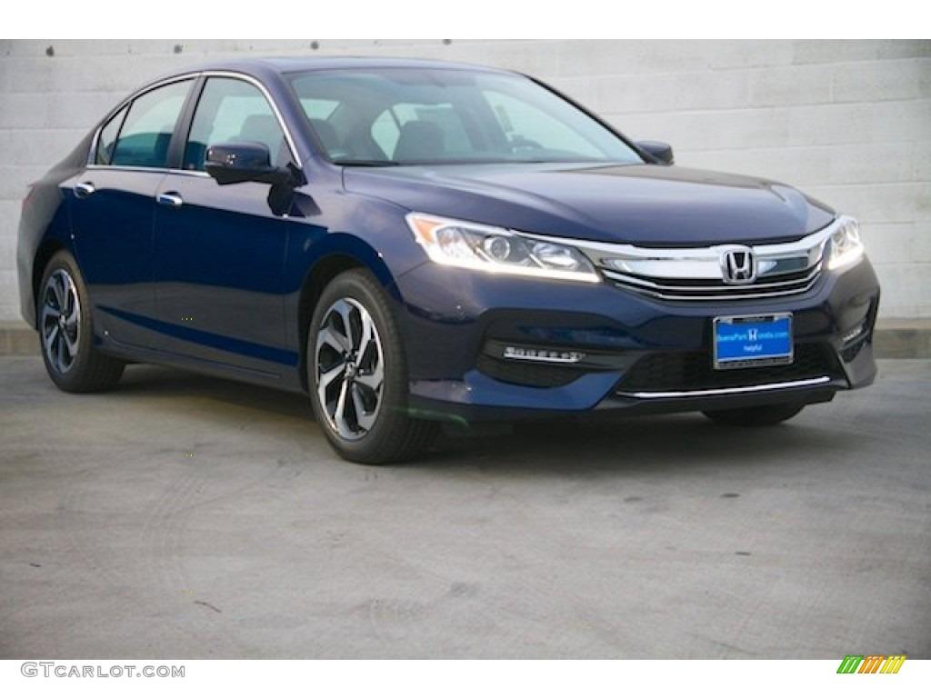 Obsidian Blue Pearl Honda Accord